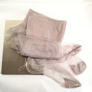 Vintage Hanes Silver Demi-Toe Stockings